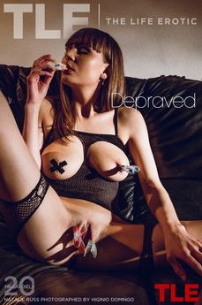 TheLifeErotic - Natalie Russ - Depraved by Higinio Domingo