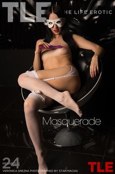 TheLifeErotic - Veronica Snezna - Masquerade by Stan Macias