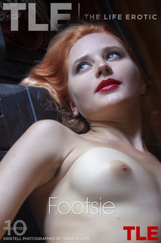 TheLifeErotic - Kristell - Footsie by Angela Linin
